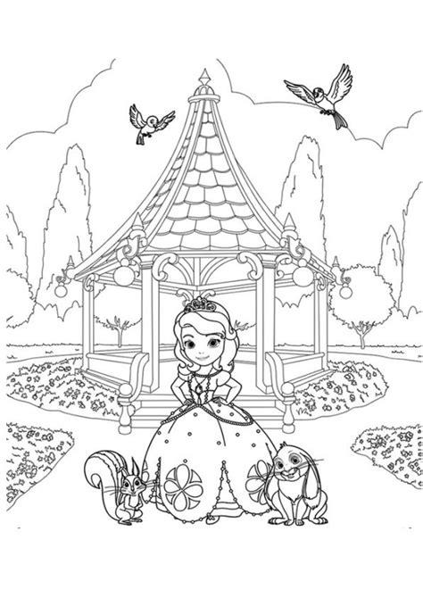 kleurplaten en zo 187 kleurplaten van sofia het prinsesje