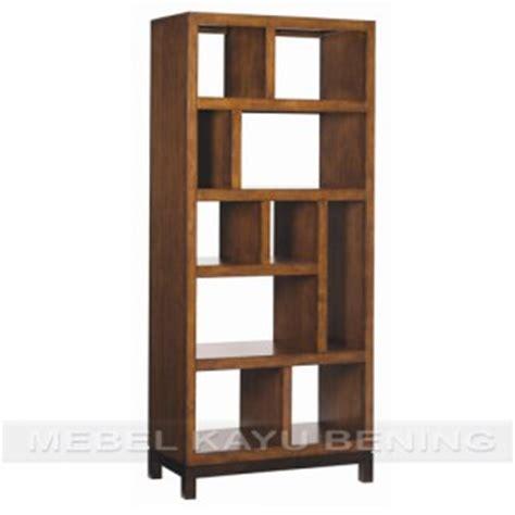 Rak Buku Dinding Kayu rak buku kayu jati model minimalis labirin mebel kayu bening furniture jati minimalis ukiran