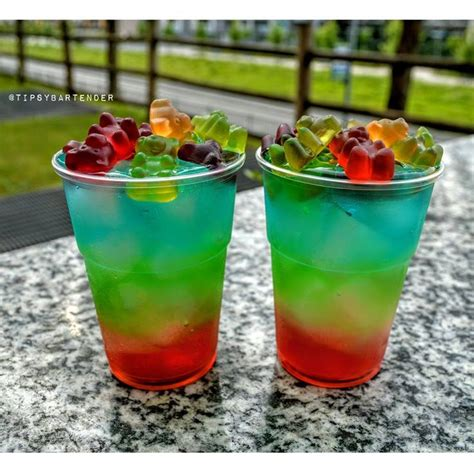 rainbow cocktail recipe 17 best ideas about pucker drinks on pinterest