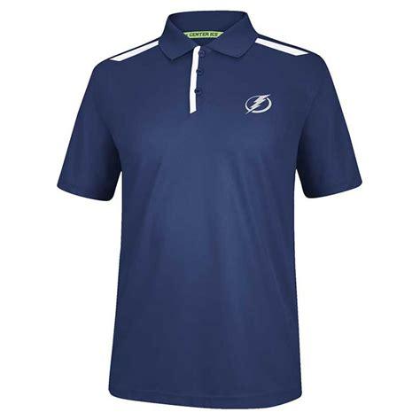 Tebok Polos reebok s sleeve ta bay lightning play polo in blue for lyst