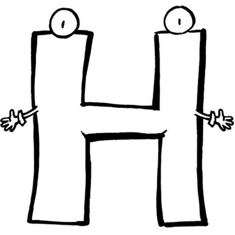 Buchstabe H by Kostenlose Malvorlage Buchstaben Lernen Buchstabe H Zum