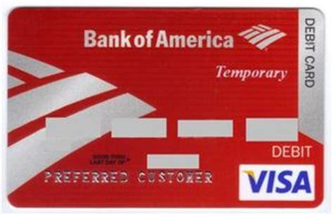 Bank Of America Business Debit Card
