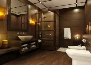 colors brown tile bathroom