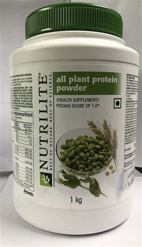 Nutrilite All Plant Protein Powder Amway Nutrilite All Plant Protein Powder 1kg Buy Amway