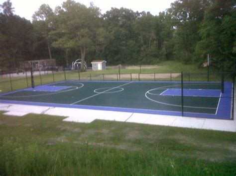 full court basketball court backyard full basketball court and sand volleyball in new buffalo