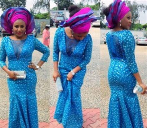 lovely and recent ankara styles bellanaija beautiful ankara long gown style lace design pinterest