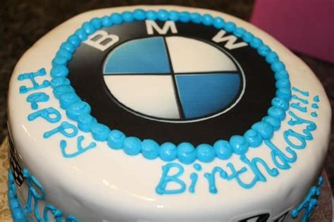 bmw cake bmw symbol   edible image custom cakes bmw cake bmw symbol cake
