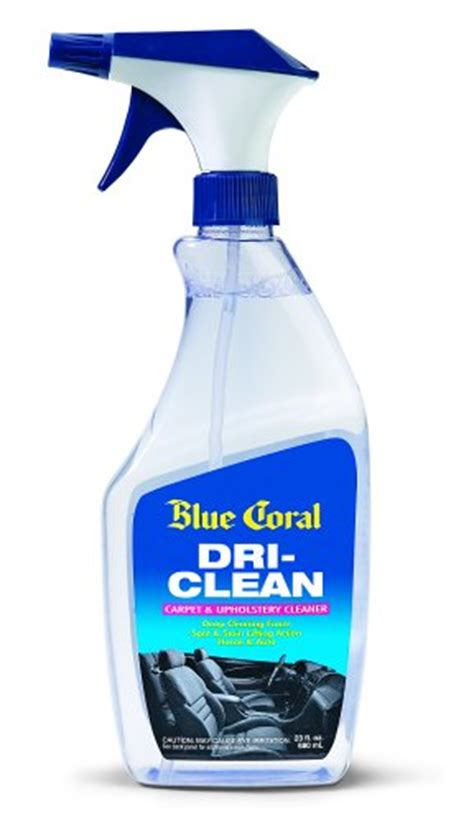 blue coral upholstery cleaner blue coral dc23 dri clean upholstery cleaner 23 oz