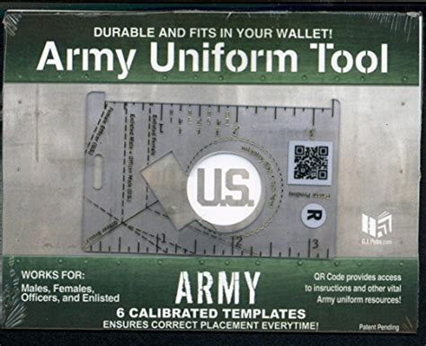 printable army uniform ruler army uniform tool buy online in uae products in the