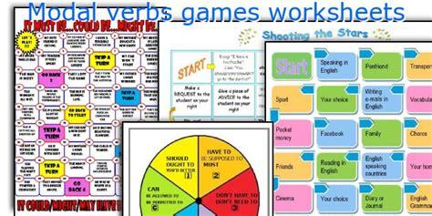grammar board games ks2 printable english teaching worksheets modal verbs games
