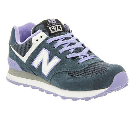 balance 574 light blue balance 574 blue light blue his trainers