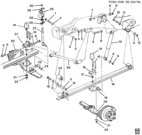 front end suspension diagram 1998 chevy truck front suspension diagram 1998 free
