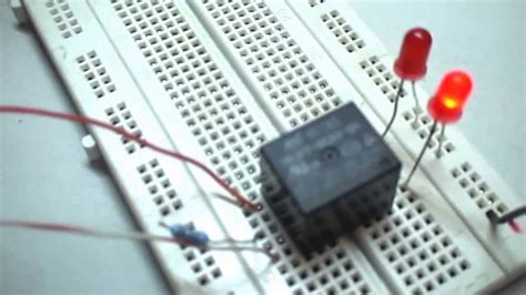 simple relay circuit youtube