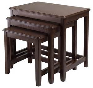 winsome 3pc nesting table by oj commerce 40322 143 99