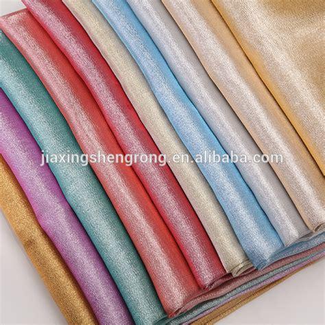 metallic lame polyester metallic yarn dyed lame fabric for costume buy