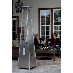 stainless steel pyramid patio heater stainless steel pyramid patio heaters at brookstone
