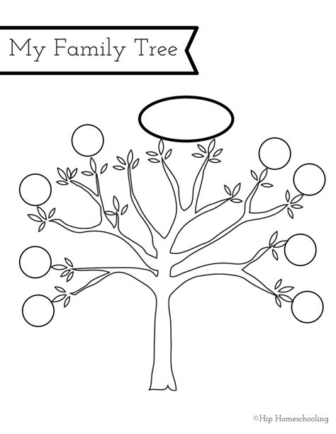 My Family Book Printable