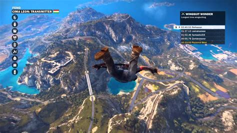 just cause 3 ragdoll just cause 3 wingsuit dive and ragdoll fall