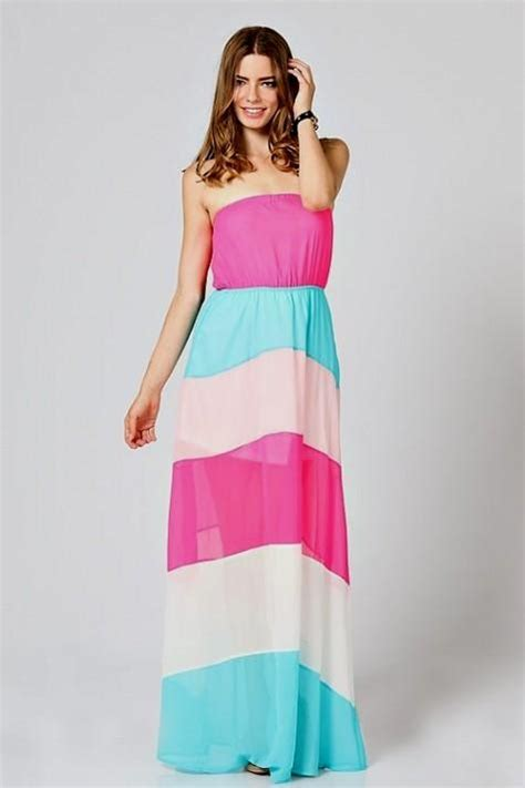 Pink Blue Dress pink and blue maxi dress www pixshark images