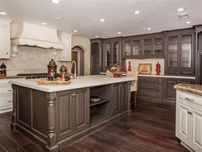 ordinary Painted Cabinets Color Ideas #1: two-tone-painted-kitchen-cabinets.jpg