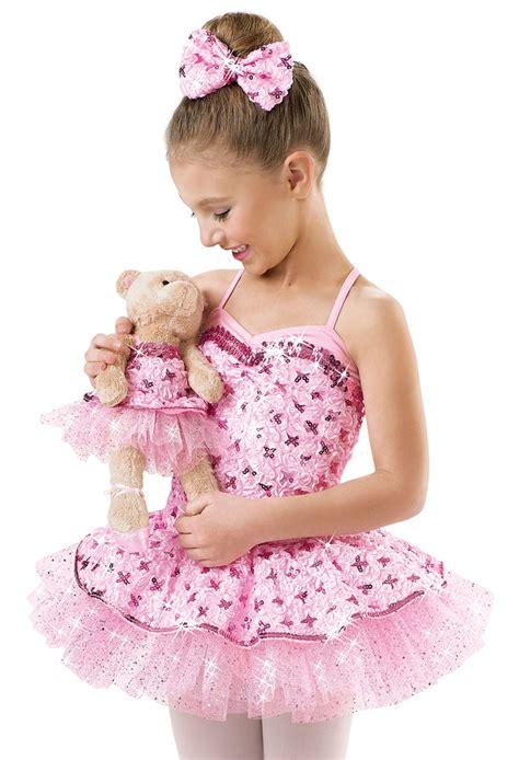 Jazz020 Pink teddy satin sequin dress weissman costumes satin sequins and teddy