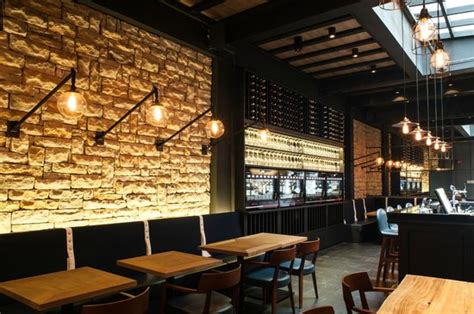 design interior wine bar its cosy and easy going atmosphere is supported by a