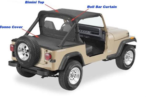 Bimini Top Jeep Pavement Ends Denim Value Line Bimini Top For 87 91 Jeep