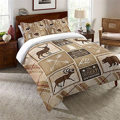 the country store comforters laural home 174 country cabin comforter in brown bed bath