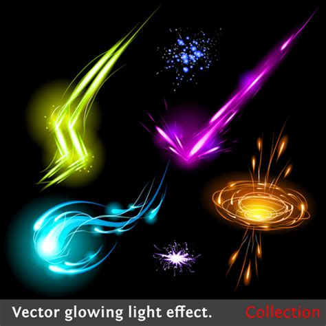 tutorial photoshop vector effect colored glowing light effects vector 05 vector other