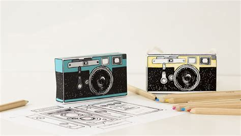 Black White Home Decor These Printable Camera Designs Are Great For Kids Crafts