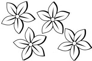 drawings of flowers in black and white clipart best