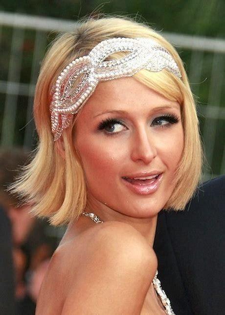 short hairstyles headbands wedding headbands for short hair