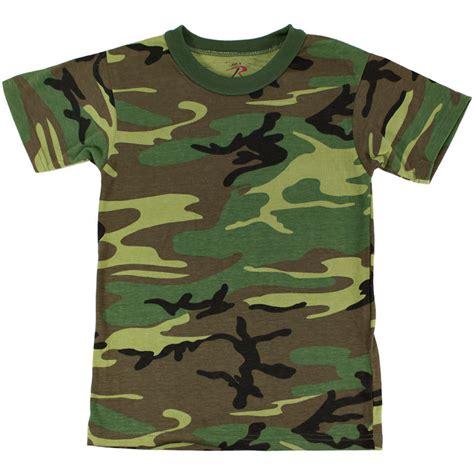 Camo Shirts Camo T Shirt Woodland Camo Army
