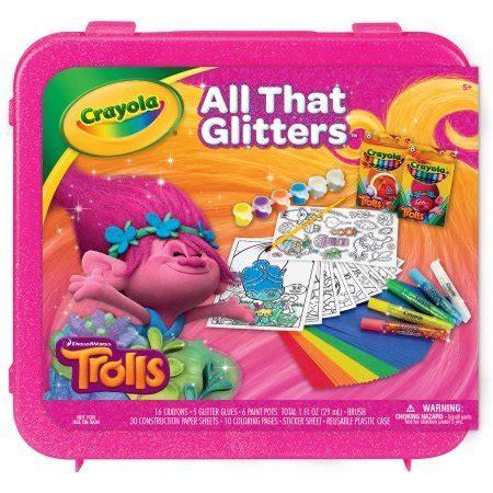Mainan Trolls Poppy Crayola Original Painting Kit 10 awesome trolls toys 2016 for ourfamilyworld