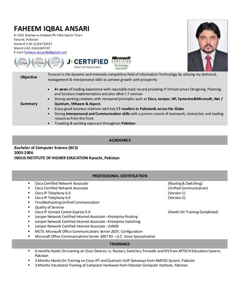 network engineer resume sle cisco my resume