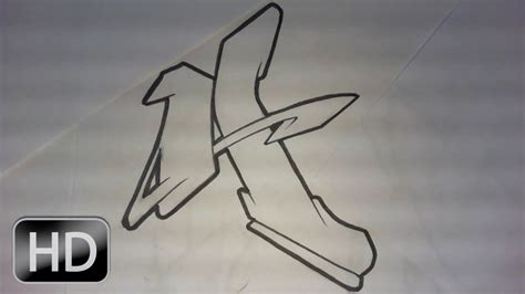 graffiti alphabet  lettre par lettre complex flow