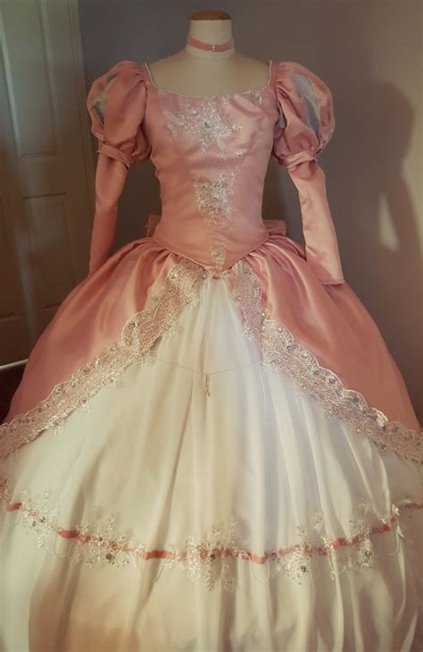 pattern for ariel s pink dress ariel the little mermaid pink ballgown the design the