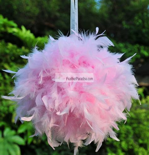 Wedding Balls by Feather Balls Pom Poms Chandelle Feather Balls