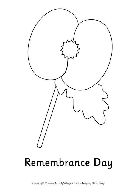 coloring pages for remembrance day albor 193 n english club colour the poppy and celebrate it