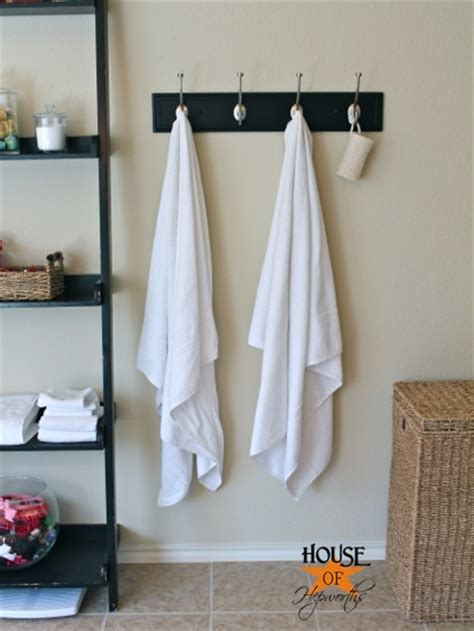 Bathroom Towel Hook Ideas Master Bathroom Update New Towel Hooks