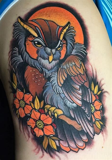 tattoo owl neo traditional 31 best neoclassic tattoo images on pinterest arm