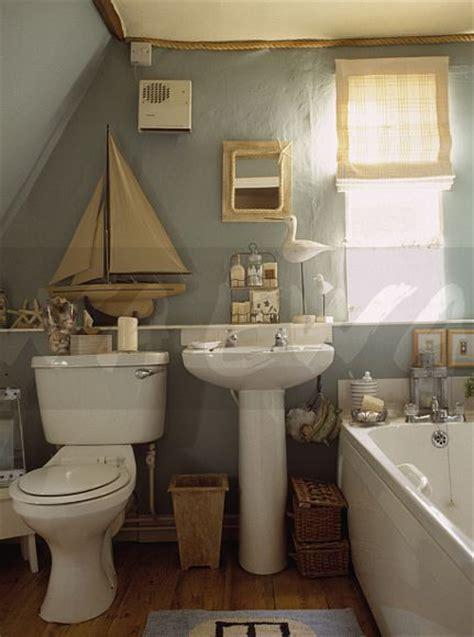 boat shelf for bathroom image model sailing boat on shelf above toilet and white pedestal basin in blue grey