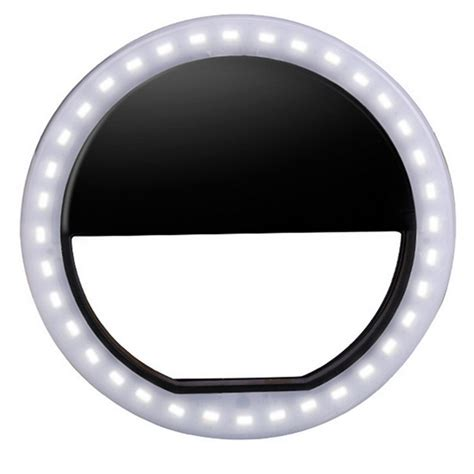 Portable Ring Light portable led ring flash light photography adapter