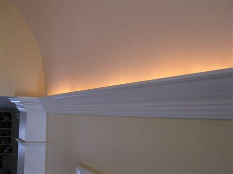installing crown molding with led lighting tips on installing crown molding lighting a concord