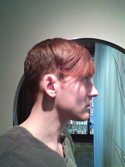 mens hairstyles without bangs disconnected undercut style with long bangs men