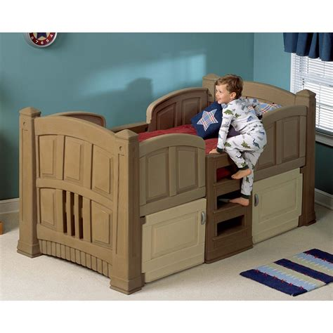 2 twin beds step 2 174 lifestyle twin bed 172381 kid s furniture at