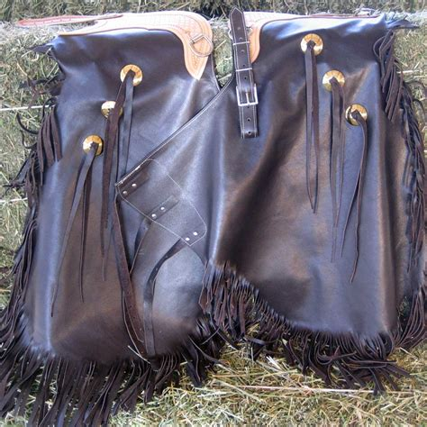Handmade Cowboy Chaps - custom quality leather chaps distinctive cowboy gifts