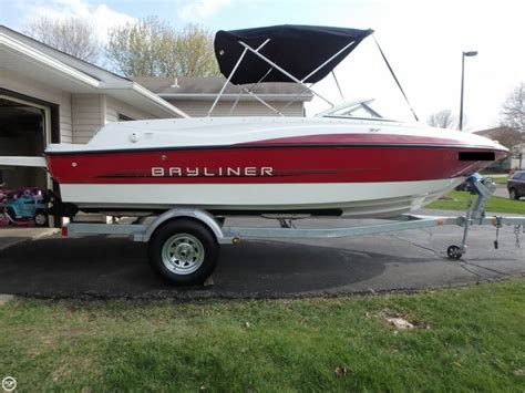 used bayliner boats for sale mn 2013 used bayliner 195 br bowrider boat for sale 25 600