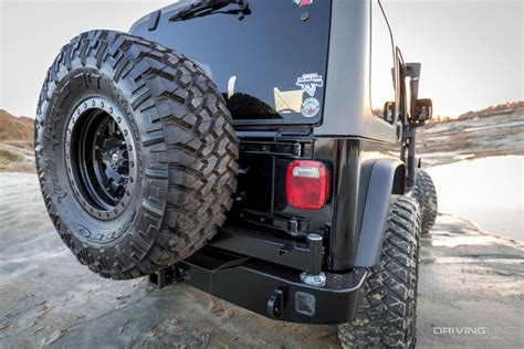 jeep rear bumper with tire arb jeep wrangler rear bumper and tire carrier review