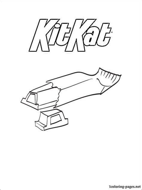 coloring book ktt kitkat coloring page coloring pages